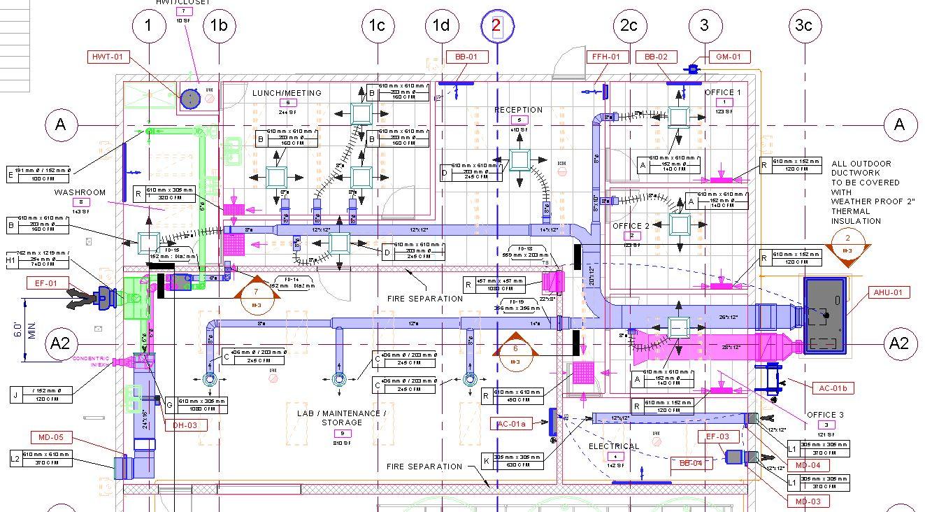 HVAC Mechanical Engineering